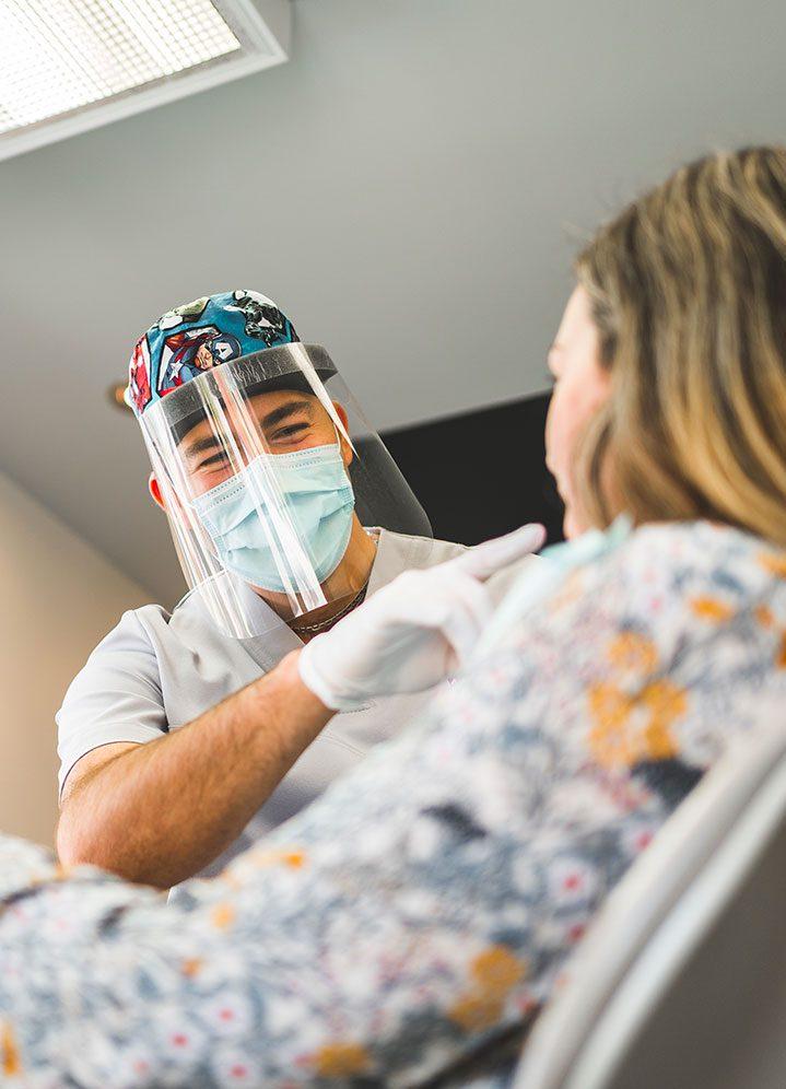 Devenir <br/>nouveau patient